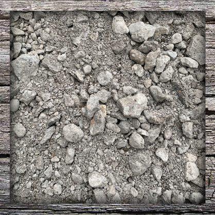 Screened Concrete