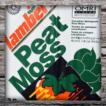 Peat Moss - Bagged